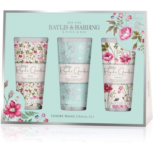 Baylis & Harding / Darčeková sada krémov na ruky Royale Garden - 3x50ml