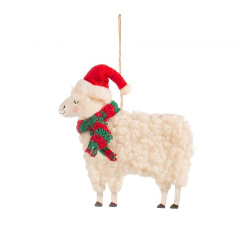 sass & belle / Vianočná ozdoba Sheep Red Hat
