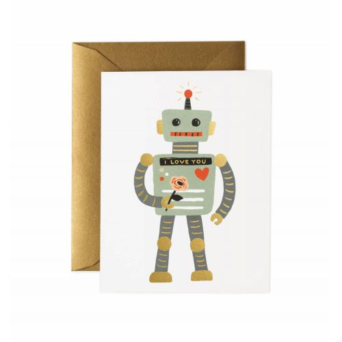 Rifle Paper Co. / Prianie s obálkou Love Robot