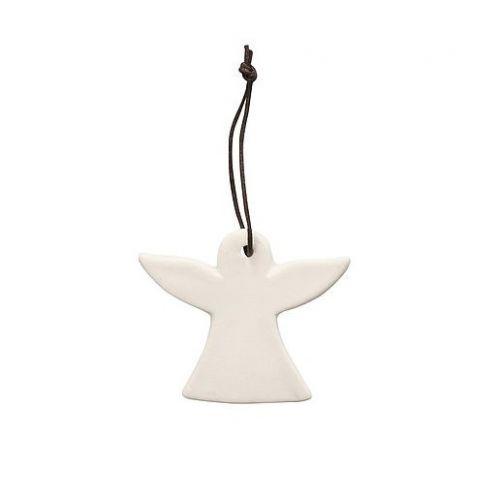 Krasilnikoff / Porcelánová vianočná ozdoba White Angel