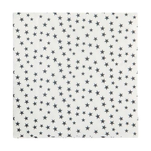 Nicolas Vahé / Papierové obrúsky Stars - 20 ks