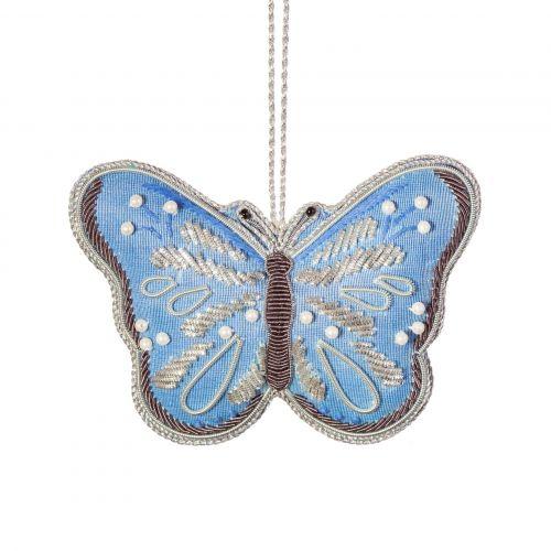 sass & belle / Vianočná ozdoba Butterfly Zari Embroidery