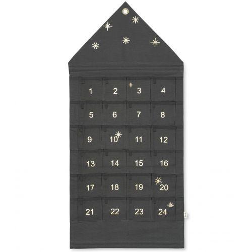 ferm LIVING / Nástenný adventný kalendár Star Green