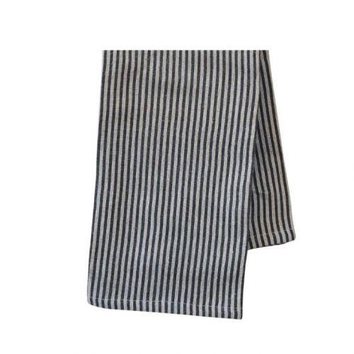 Chic Antique / Bavlnená utierka Barchant Stripe Sand 70×50 cm