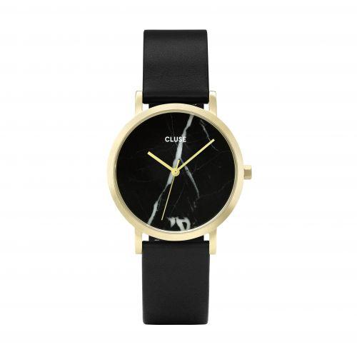 CLUSE / Hodinky Cluse La Roche Petite Gold Black Marble/Black