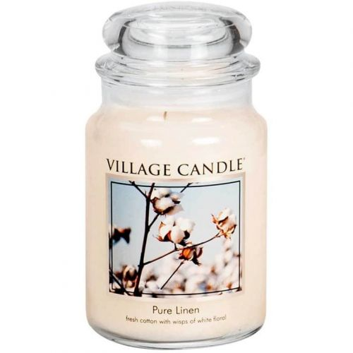 VILLAGE CANDLE / Sviečka Village Candle - Pure Linen 602g