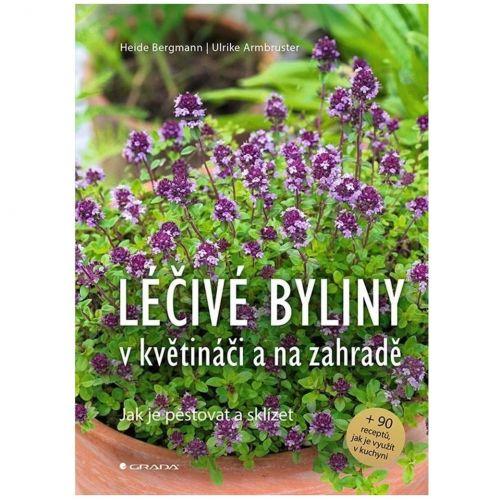 / Kniha Léčivé byliny v květináči a na zahradě