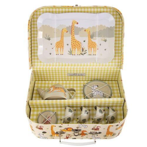 sass & belle / Detská sada na čaj v kufríku Safari