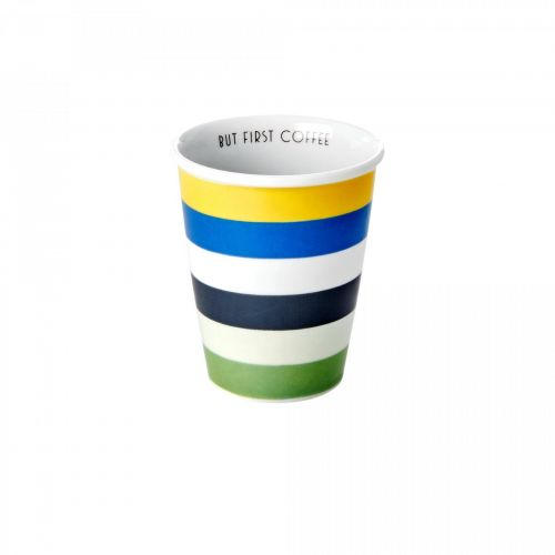 rice / Porcelánový hrnček Stripes 225ml