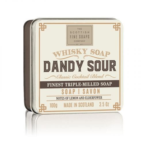 SCOTTISH FINE SOAPS / Mydlo v plechovej krabičke Dandy Sour Cocktail