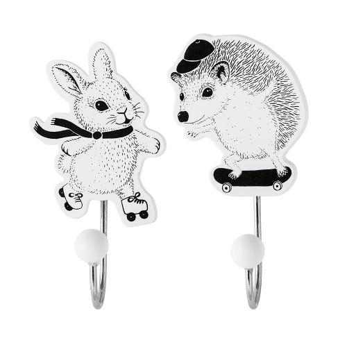 Bloomingville / Dětský háček Bunny/Hedgehog
