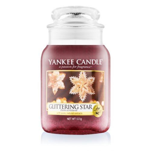 Yankee Candle / Sviečka Yankee Candle 623 gr - Glittering Star