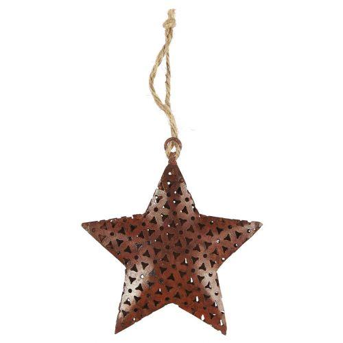 IB LAURSEN / Kovová vianočná ozdoba Ornament Star Rust