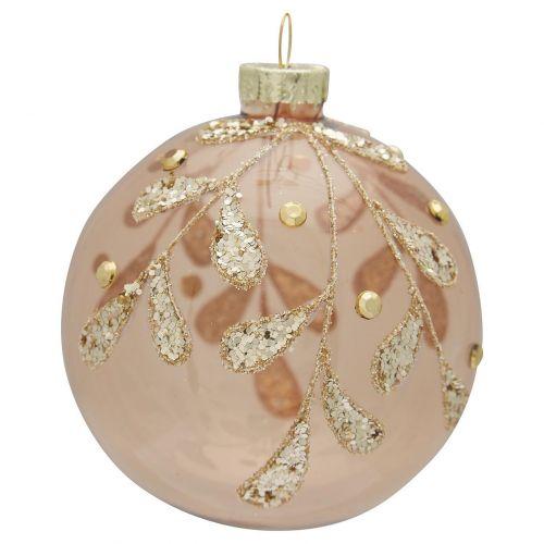 GREEN GATE / Sklenená vianočná ozdoba Elouise Sparkling Gold