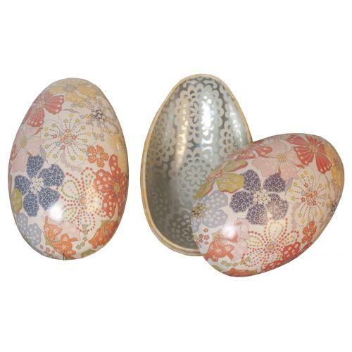 Maileg / Plechové vajíčko Flower