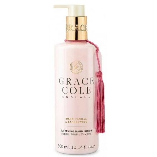 Grace Cole / Mlieko na ruky Warm Vanilla & Sandalwood 300ml