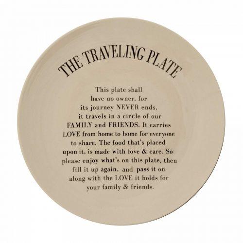 Bloomingville / Keramický tanier Traveling Plate