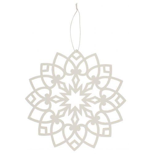 IB LAURSEN / Vianočná papierová ozdoba Circle 20 cm