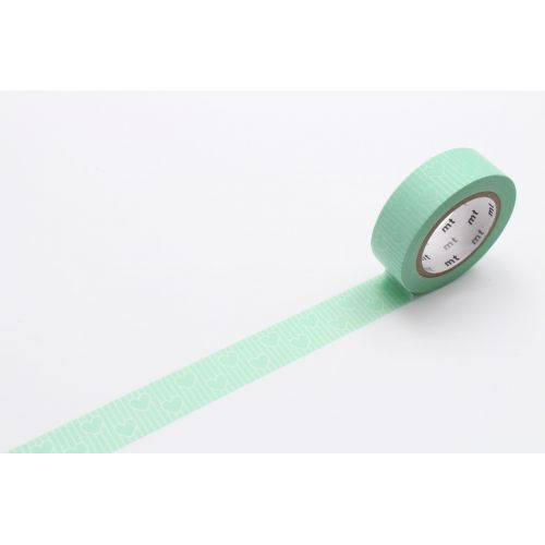mt / Japonská papierová páska Heart Line