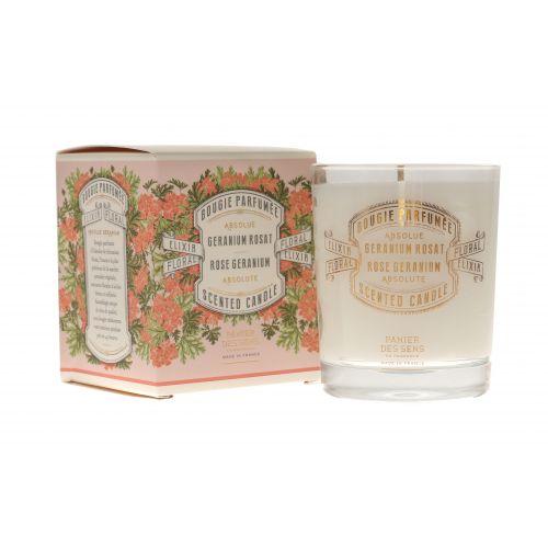 Panier des Sens / Vonná sviečka Panier des Sens - Rose Geranium