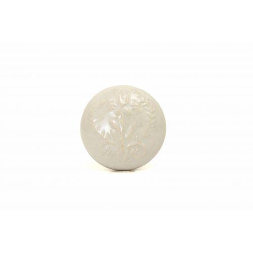 La finesse / Porcelánová úchytka White Ornament