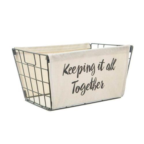 sass & belle / Kovový úložný kôš Keeping It All Together