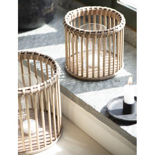 IB LAURSEN / Svietnik Bamboo Glass