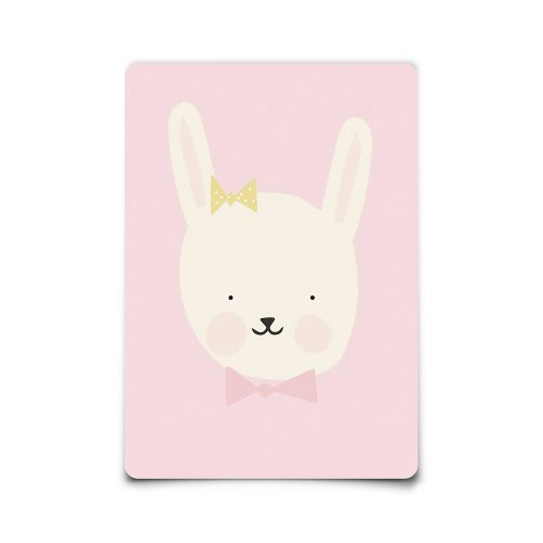 EEF lillemor / Pohľadnica Miss Bunny A6