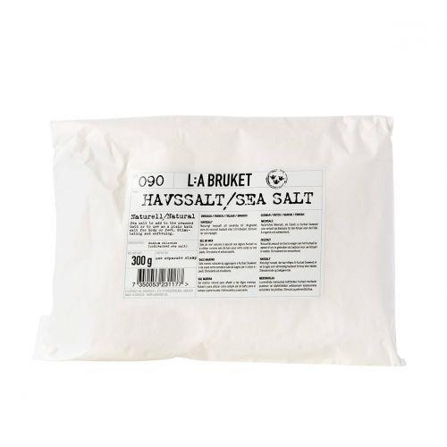L:A BRUKET / Morská soľ do kúpeľa Natural 300gr