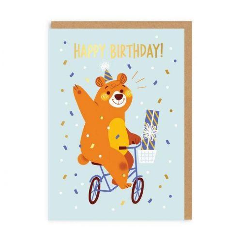 Ohh Deer / Narodeninové prianie Greeting Bear