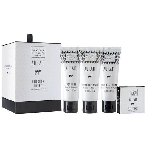 SCOTTISH FINE SOAPS / Darčekové balenie kozmetiky Au Lait