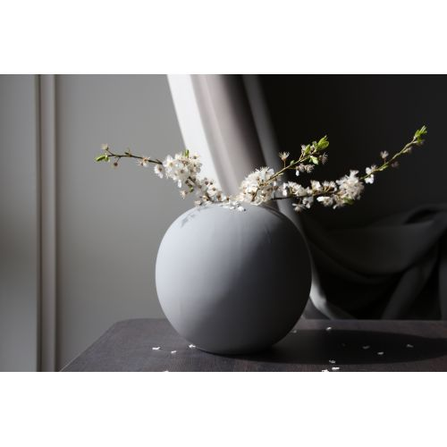 COOEE Design / Kulatá váza Ball Grey 20 cm