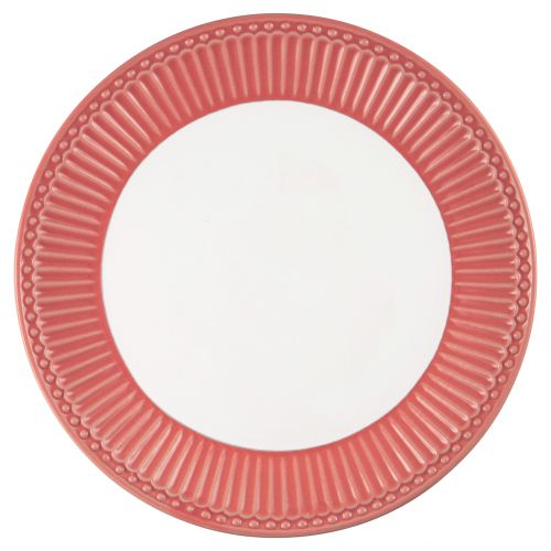 GREEN GATE / Keramický dezertný tanier Alice Coral