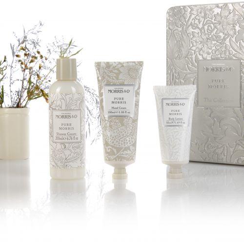 MORRIS & Co. / Sada kozmetiky v plechovom boxe Pure