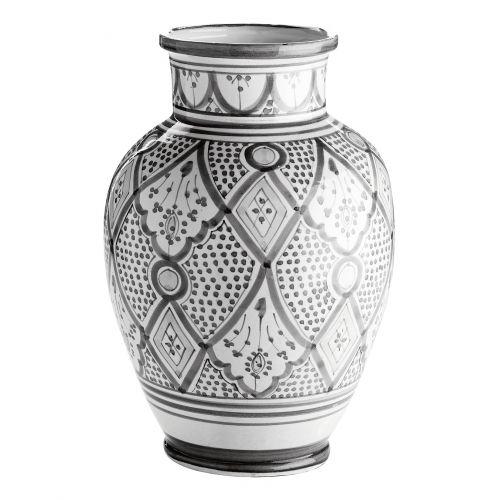 Tine K Home / Keramická váza Morocco Grey