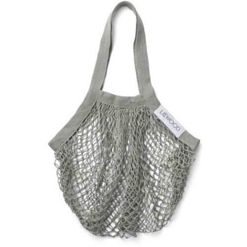 LIEWOOD / Sieťová nákupná taška Mesi Dove Blue