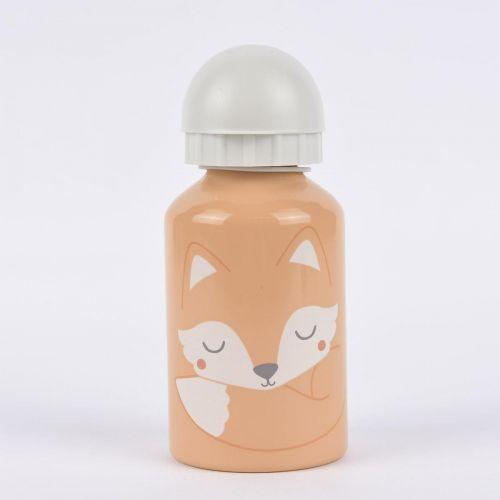 sass & belle / Detská kovová fľaša Woodland Fox 300 ml