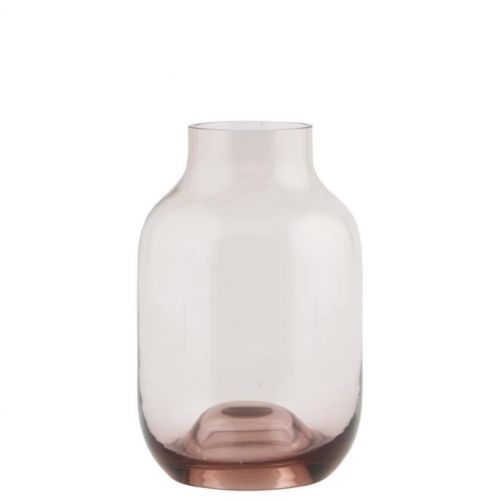 House Doctor / Sklenená váza Aubergine 14cm