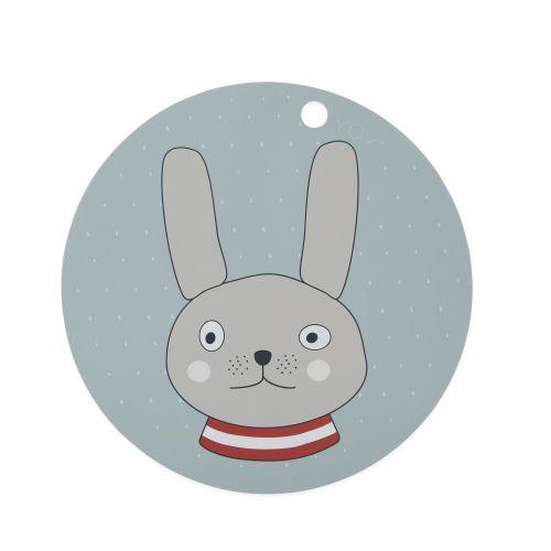 OYOY / Silikónové prestieranie Rabbit