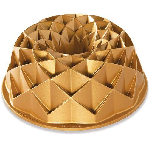 Nordic Ware / Hliníková forma na bábovku Jubilee Gold