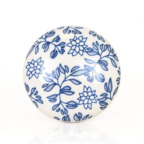 La finesse / Porcelánová úchytka Blue Print