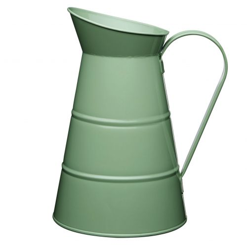 Kitchen Craft / Plechový džbán Sage green 2,3 l