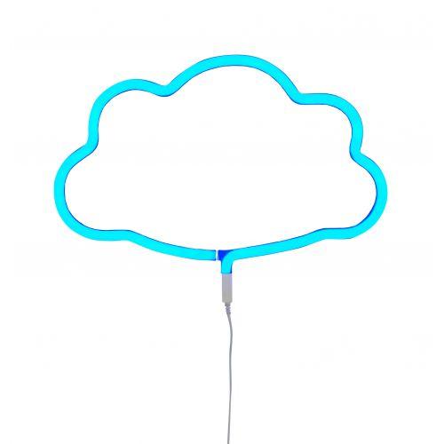 A Little Lovely Company / Neonové LED svetlo Cloud Blue