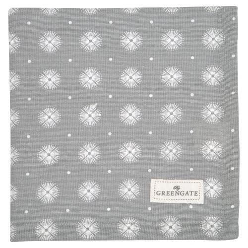 GREEN GATE / Látkový obrúsok Saga Warm Grey