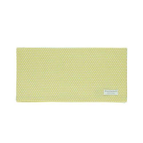 Krasilnikoff / Bavlnený obrúsok Micro Dots Dusty Yellow