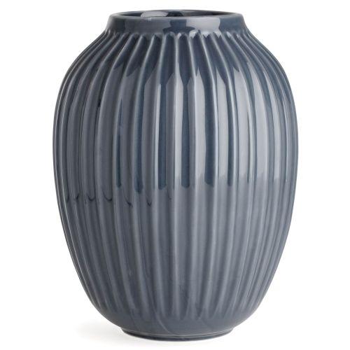 KÄHLER / Keramická váza Hammershøi Anthracite 25 cm