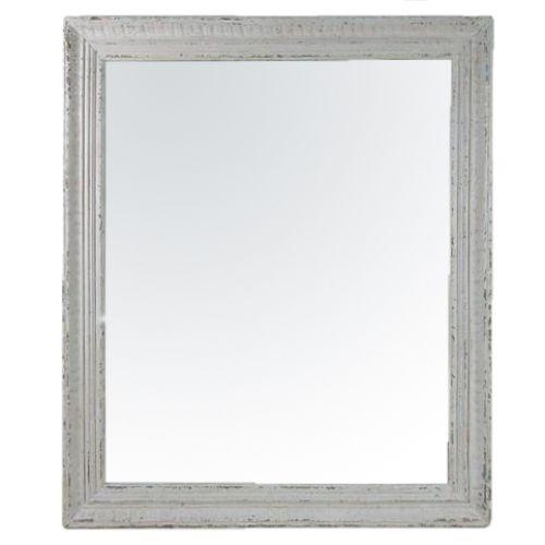 CÔTÉ TABLE / Zrkadlo v drevenom ráme Antique 109x92 cm