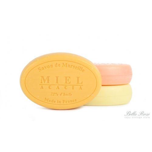 LE CHATELARD / Mýdlo Marseille 100 g ovál - med a mimosa