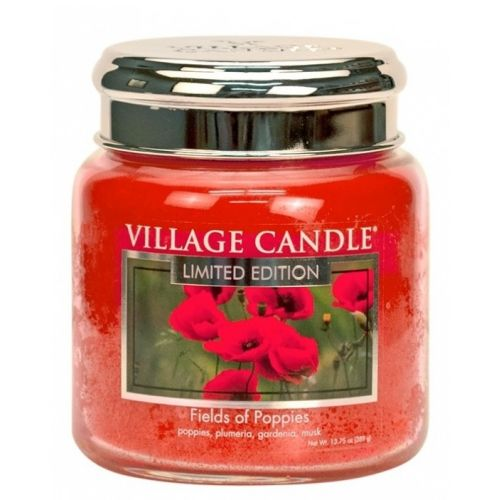 VILLAGE CANDLE / Sviečka Village Candle - Fields of Poppies 389g