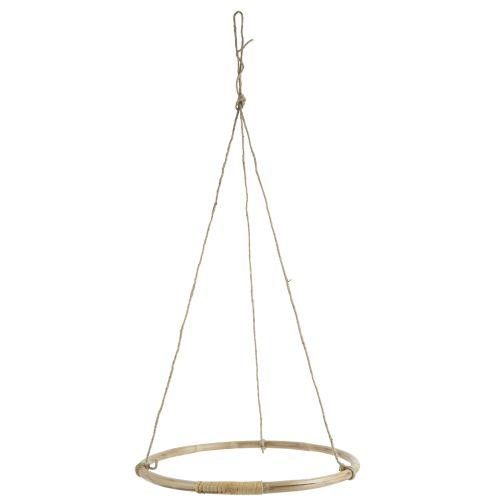 IB LAURSEN / Bambusová závesná dekorácia Bamboo & Juta Hanger